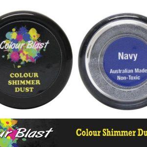 Colour Blast - Shimmer Dust - Navy