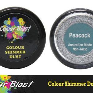 Colour Blast - Shimmer Dust - Peacock