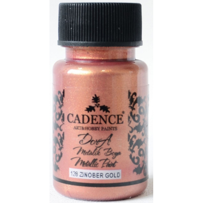 Candence Metallic Paint - Rose Gold (Zinober)