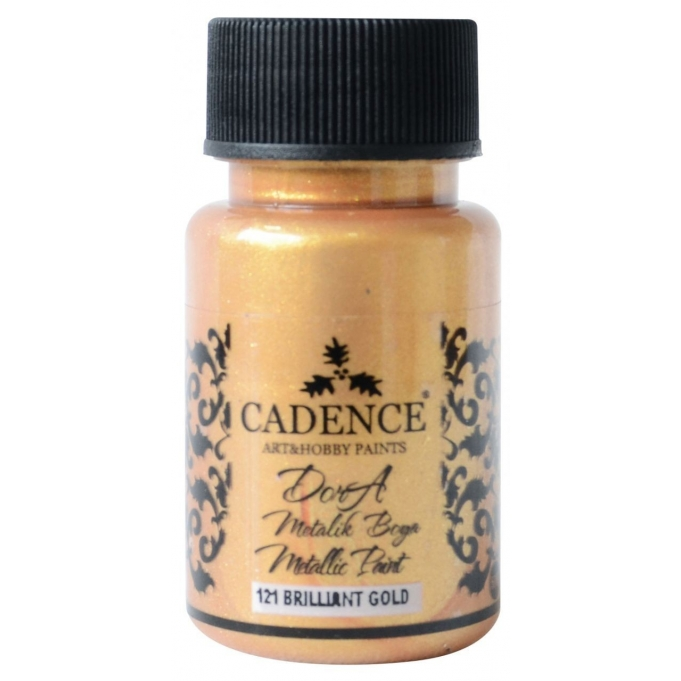 Candence Metallic Paint  - Brilliant Gold