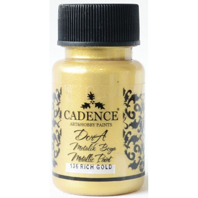 Candence Metallic Paint - Rich Gold