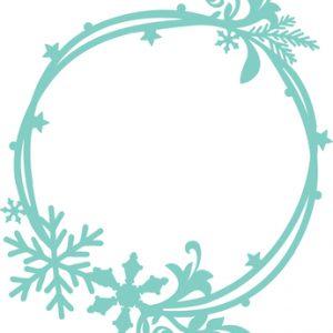 Kaisercraft Decorative Die - Snowflake Circle