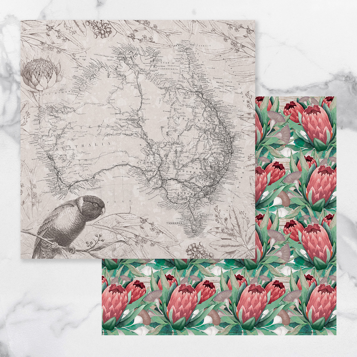 Couture Creations Sunburnt Country - Paper 01A