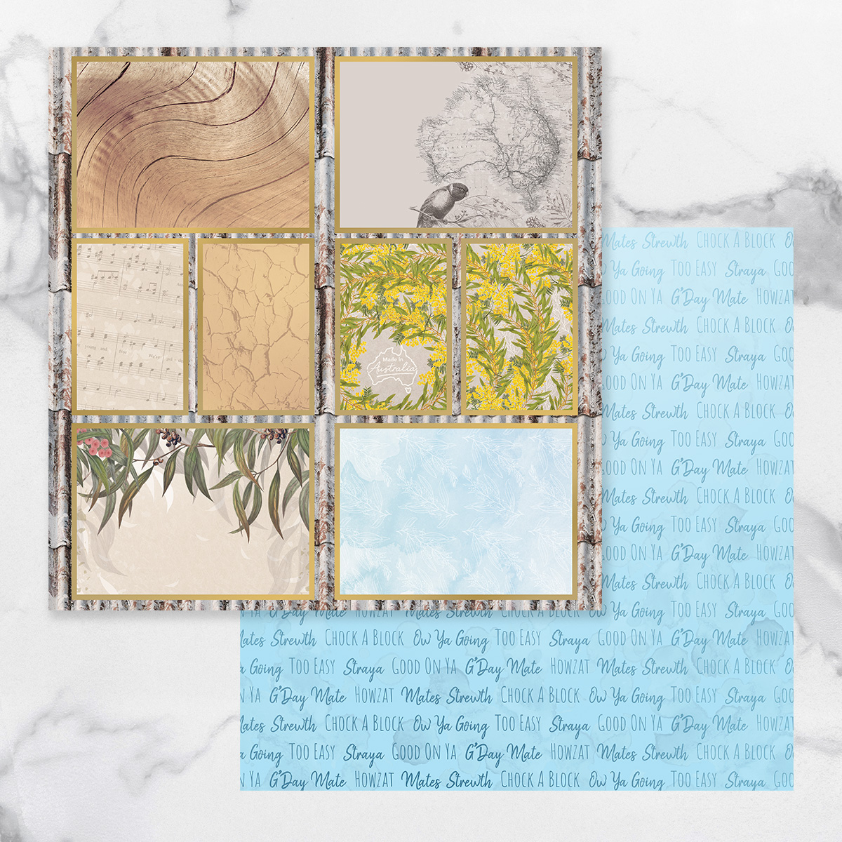 Couture Creations Sunburnt Country - Paper 11A