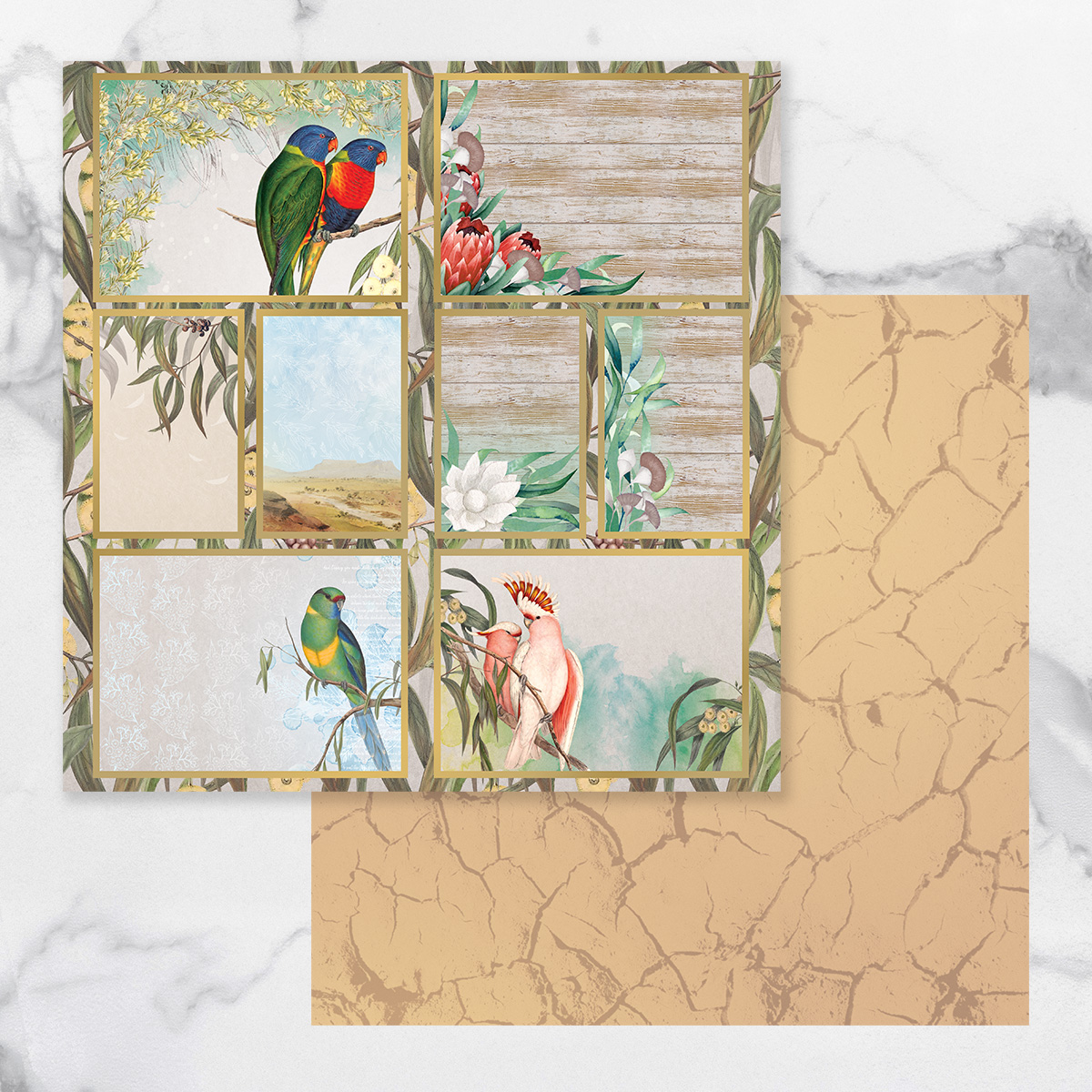 Couture Creations Sunburnt Country - Paper 12A