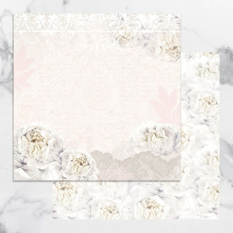 Couture Creations - Peaceful Peonies - Paper 02