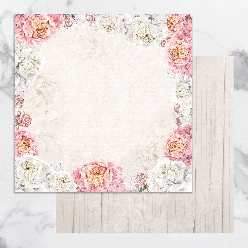 Couture Creations - Peaceful Peonies - Paper 04