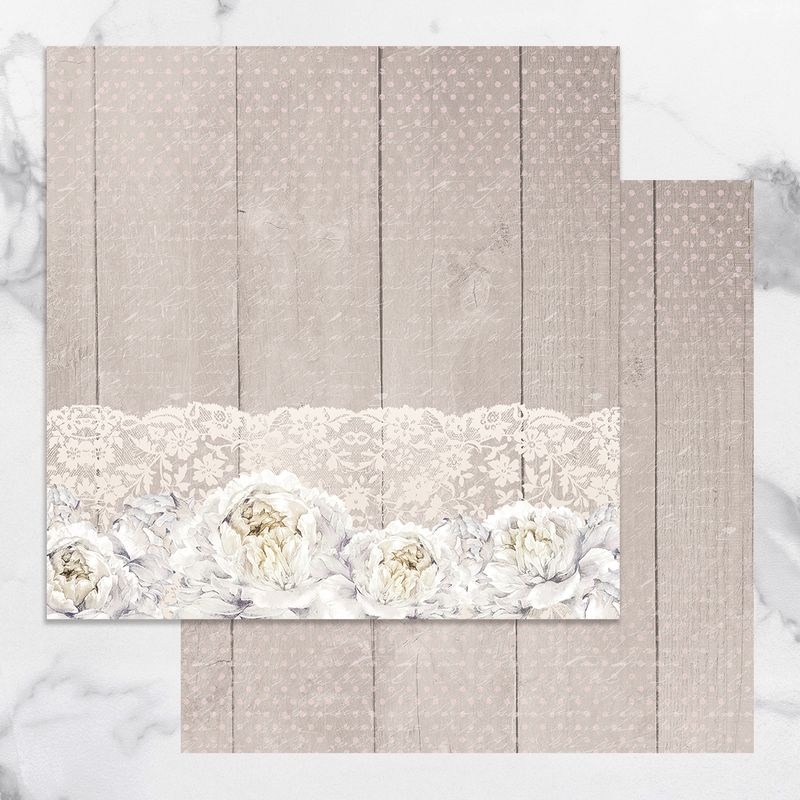 Couture Creations - Peaceful Peonies - Paper 05