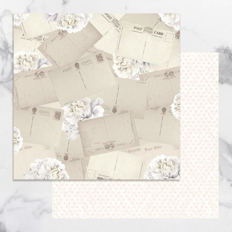 Couture Creations - Peaceful Peonies - Paper 07