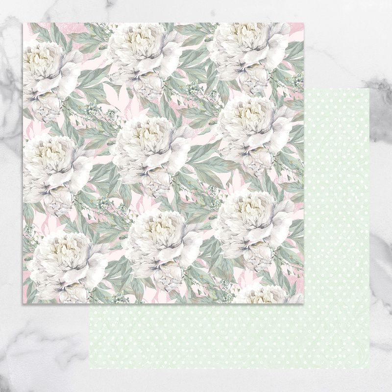 Couture Creations - Peaceful Peonies - Paper 10