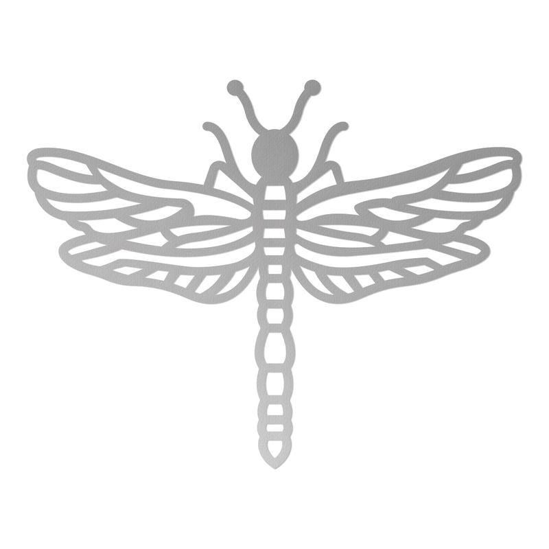 Couture Creations - Die - Peaceful Peonies Mini Dragonfly