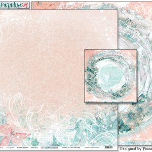 Pink Paislee - Indigo & Ivy - Paper #4