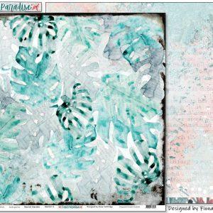 Pink Paislee - Indigo & Ivy - Paper #5