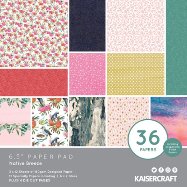 Kaisercraft - Native Breeze - 6.5 Paper Pad