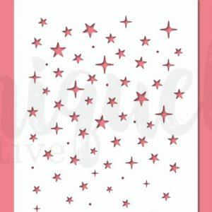 Uniquely Creative Stencil - Twinkly Stars