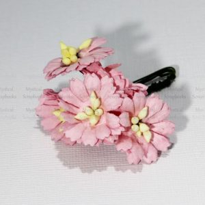 Mulberry Flowers - Cosmon Daisy - Pink
