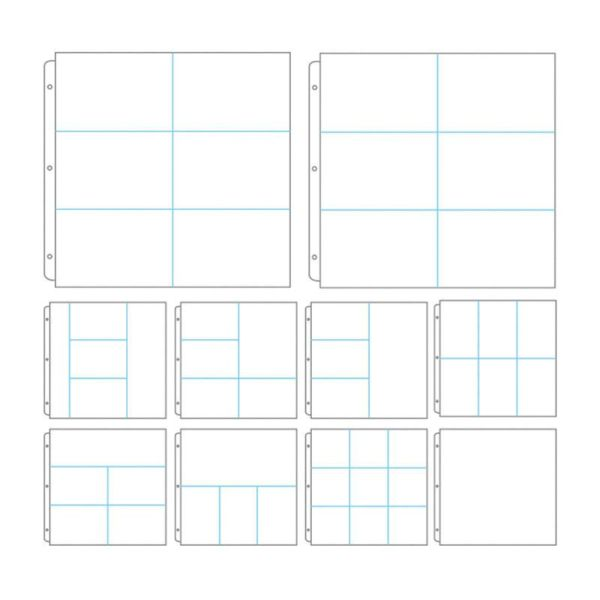 Protective Sleeves - Assorted Divider Pk 10
