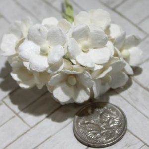 Mulberry Flowers - Sweetheart Blossoms  - White