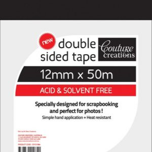 Couture Creations - Double Sided Tape - 12mm x 50m