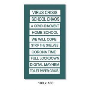 Memory Maze -  Engraved Tabs - Virus Crisis