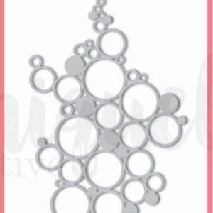 Uniquely Creative Die - Bubbles Texture