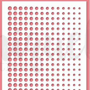 Uniquely Creative Stencil - Dot Fade