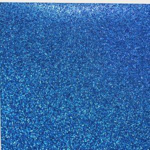 Craft4U - Glitter Card - Royal Blue
