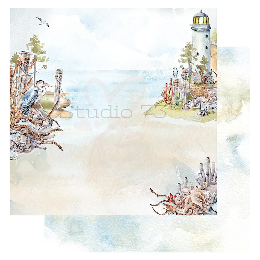 Studio 73 - Seaside Serenity - Heron Cove