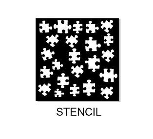 Memory Maze - Stencil - Jigsaw Peices