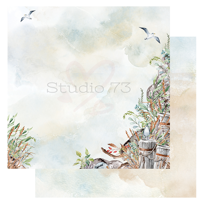 Studio 73 - Seaside Serenity - Rock Wall