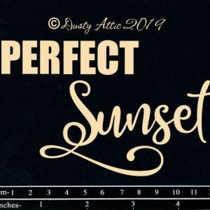 Dusty Attic - Perfect Sunset