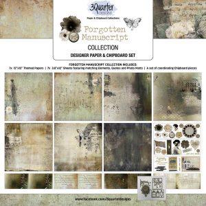3 Quarter Designs - Forgotten Manuscript *New