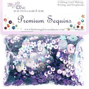 28 Lilac Lane Premium Sequins - Lilac