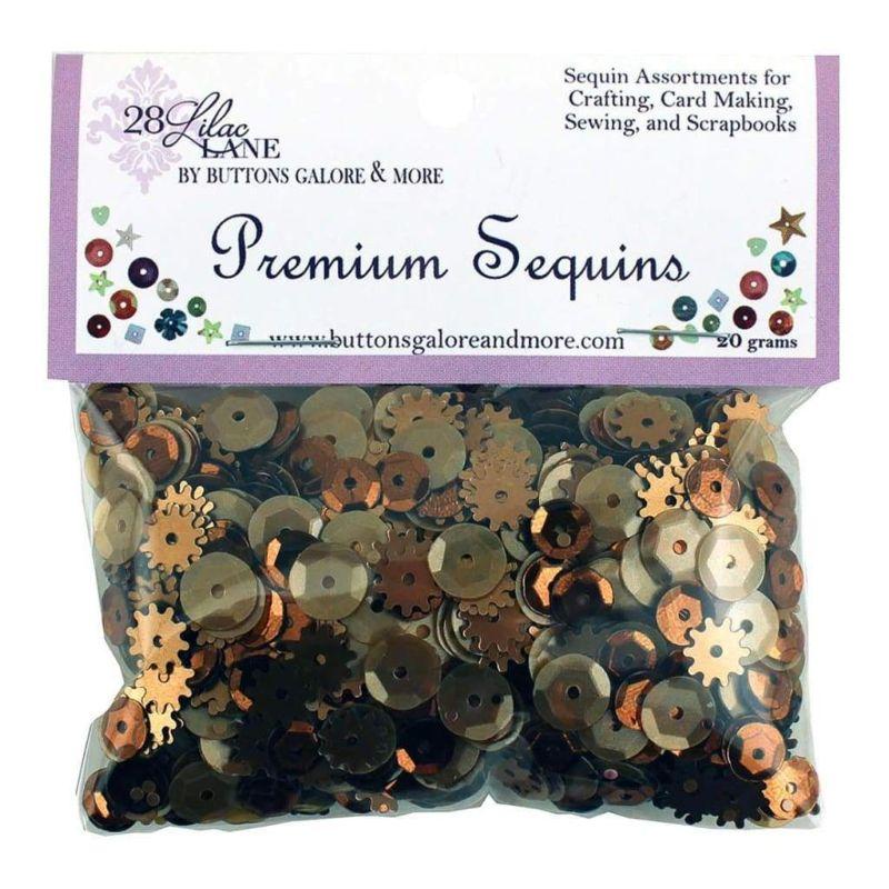 28 Lilac Lane Premium Sequins - Rusty