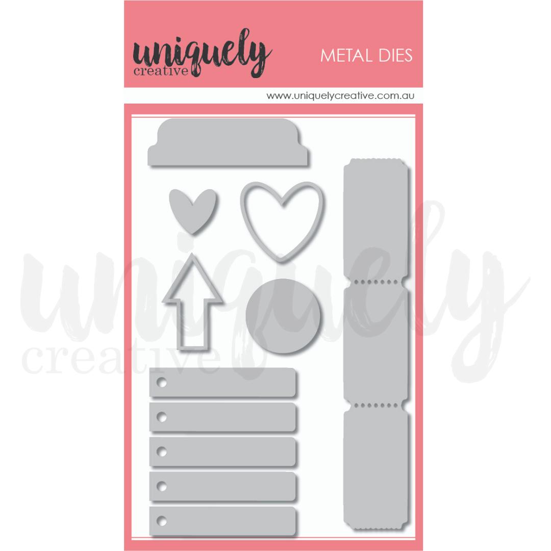 Uniquely Creative Die - Cut-a-Part Essentials #2