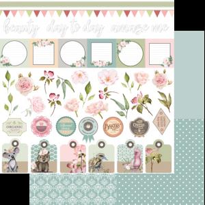Uniquely Creative - Gums & Roses - Paper - Floral Tags & Titles