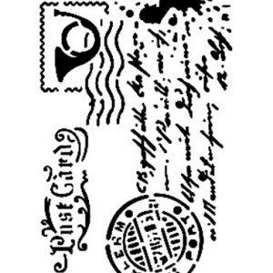 Cadence Mix Media Stencil - AS472
