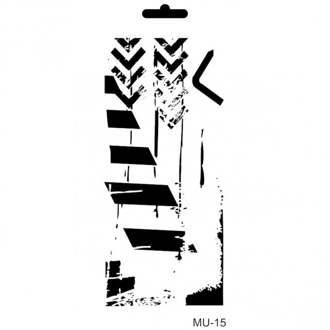 Cadence Mix Media Stencil - MU015