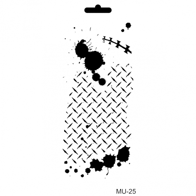 Cadence Mix Media Stencil - MU25