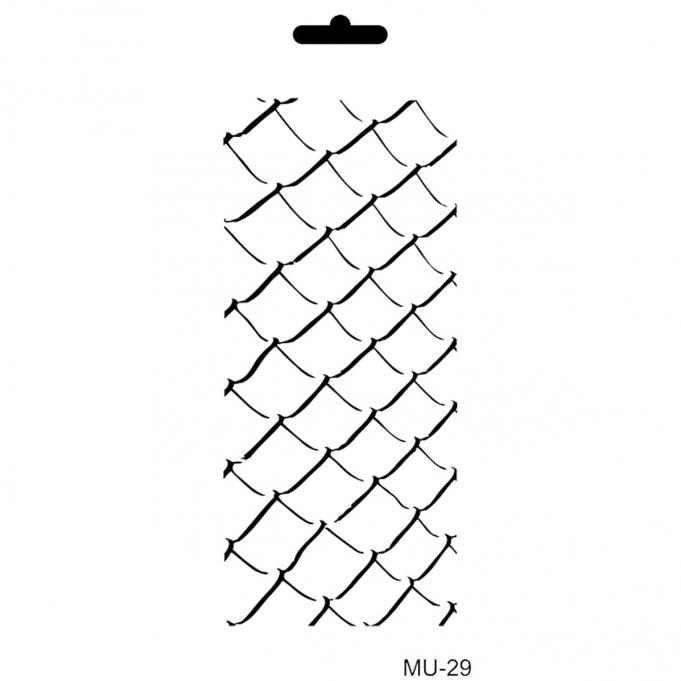 Cadence Mix Media Stencil - MU029