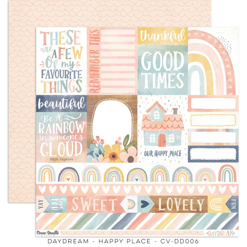 Cocoa Vanilla - Daydream - Paper - Happy Place