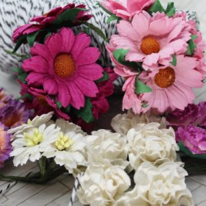Mulberry Flowers - Mixed Bag - Set A Pink & White