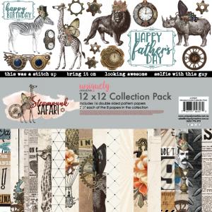Uniquely Creative - Steampunk Safari -  Collection Pack