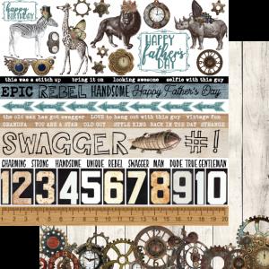 Uniquely Creative - Steampunk Safari Paper - Swagger