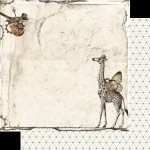 Uniquely Creative - Steampunk Safari Paper- Rebel
