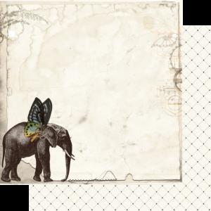 Uniquely Creative - Steampunk Safari Paper- Powerful