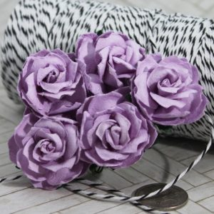 Mulberry Flowers - Wild Rose 30mm - Lilac