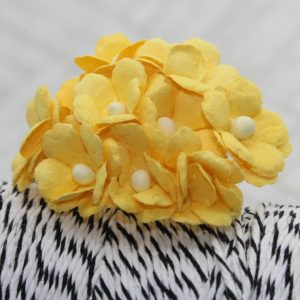 Mulberry Flowers - Sweetheart Mini Blossoms- Yellow