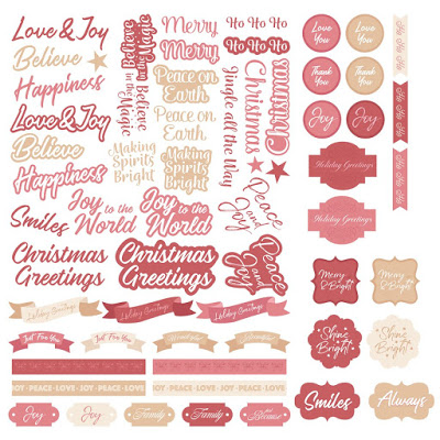 Couture Creations - The Gift of Giving - Sentiment Set