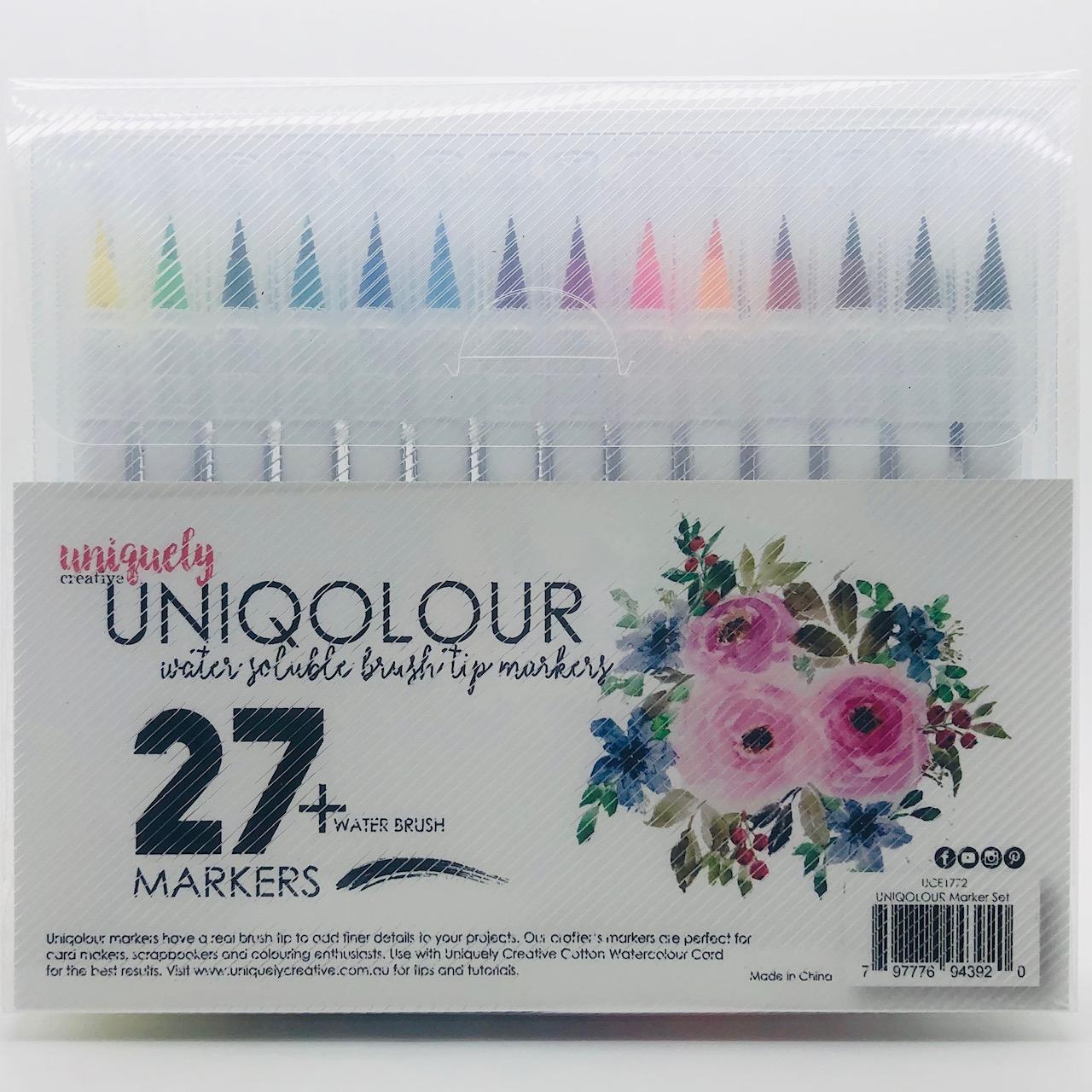 UNIQOLOUR Markers Set